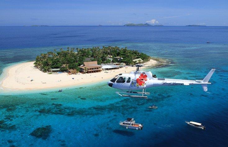 islands hopper flying