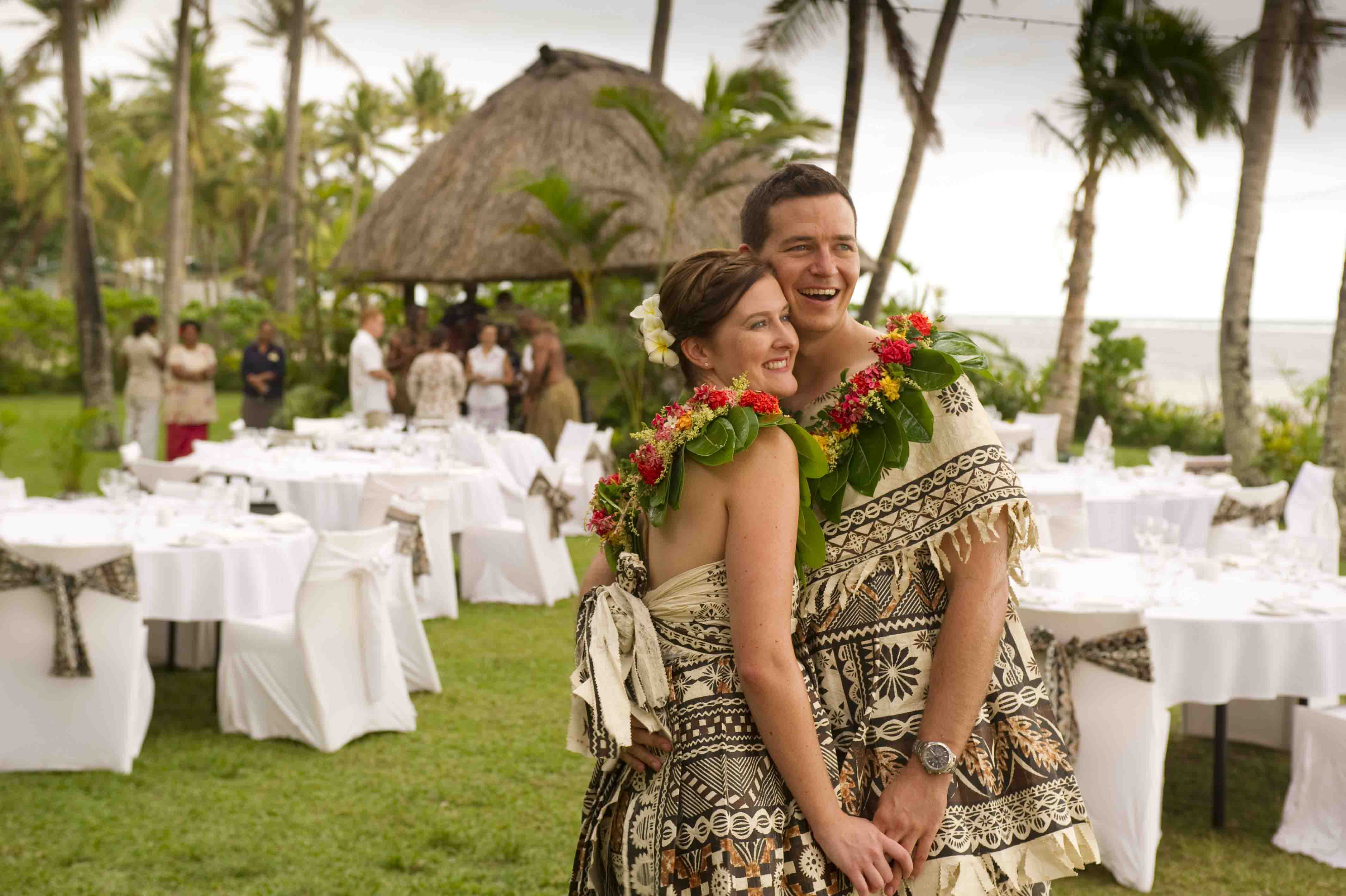 Fiji wedding romantic hunnymoon