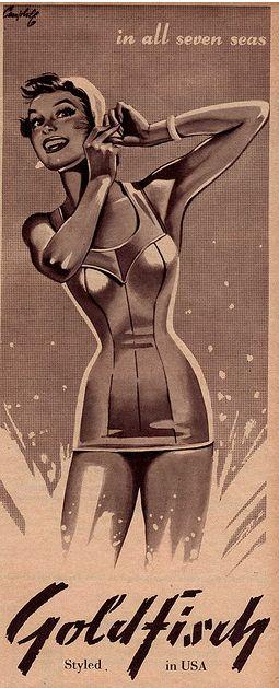 Goldfish vintage ad