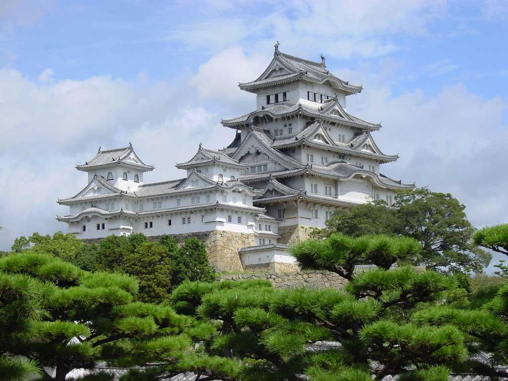 Himeji Castle in Japan