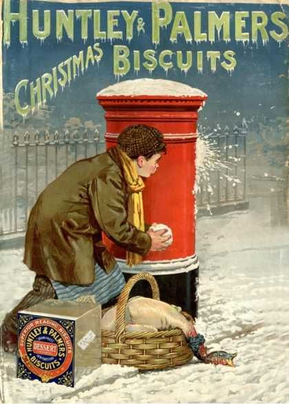 Huntley and Palmers Christmas Biscuits ad