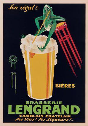Lengard Beer ad