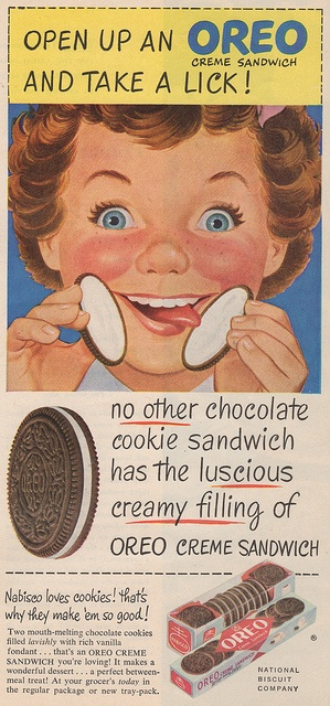 Oreo biscuits ad