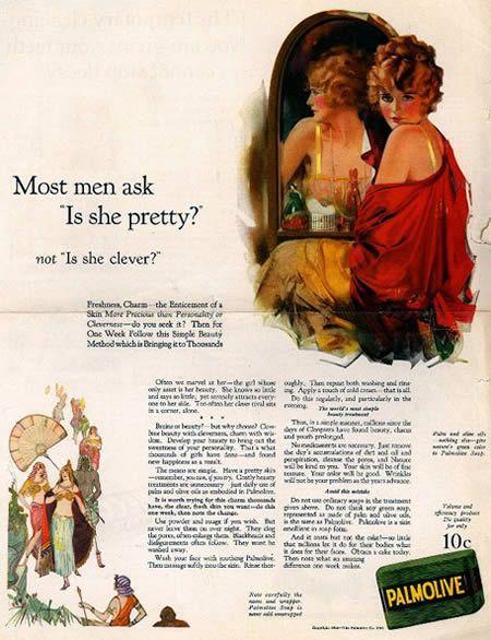 Palmolive women ad