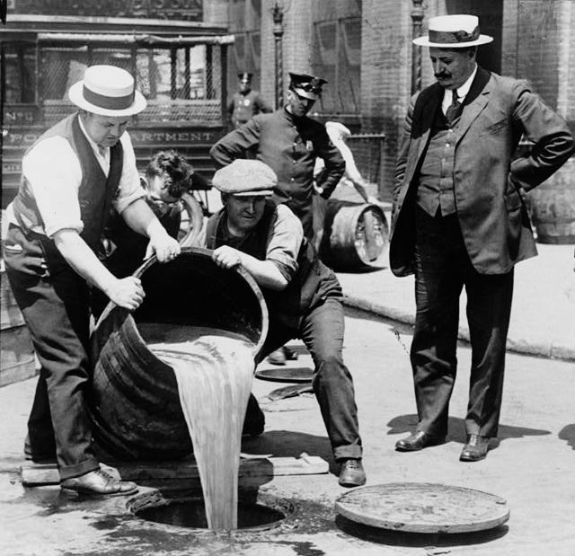 Prohibition Dump Keg