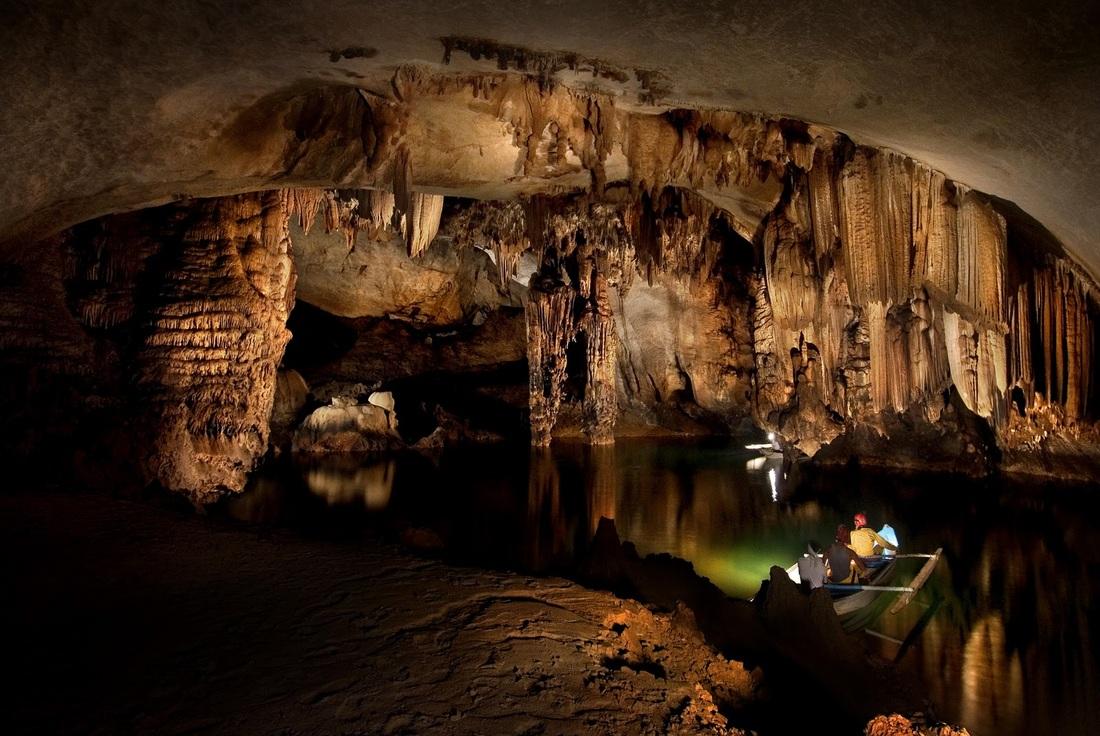 Puerto Princesa Subterranean River in Philippines