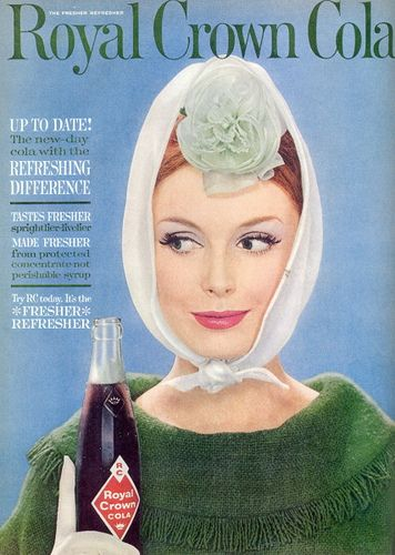 Royal Crown Cola ad, 1961