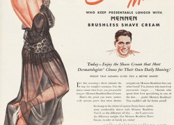 Smooth men vintage ad