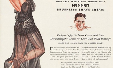 Smooth men vintage ad