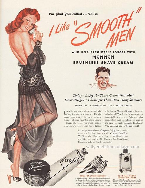 I like Smooth men ad