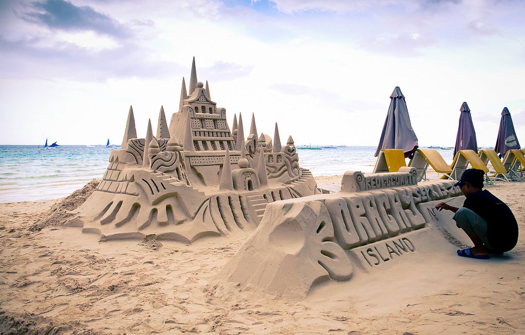 castle-made-by-a-boy-Boracay-Beach-Philippines