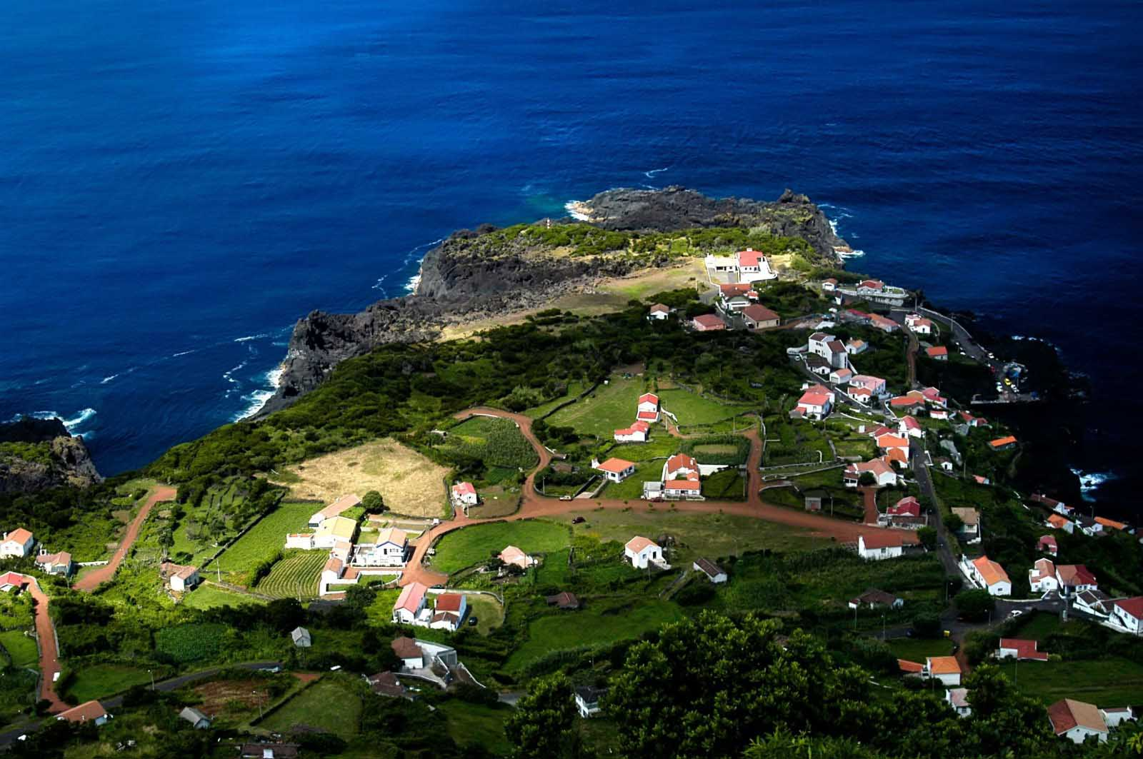faja-village-at-the-coast-in-sao-jorge-island-azores-portugal whale watching