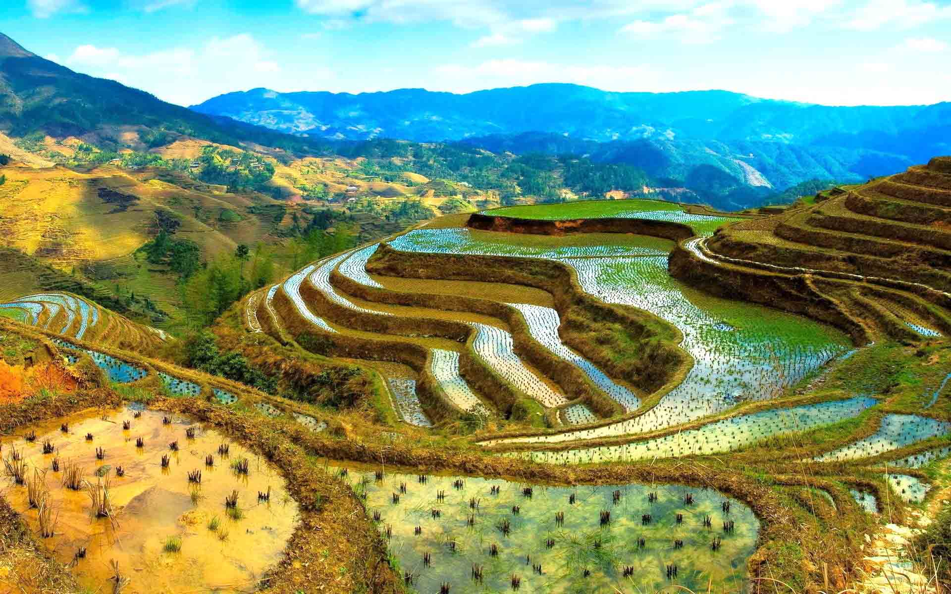 Beautiful places to visit in philippines pre tend be for Terrace landform