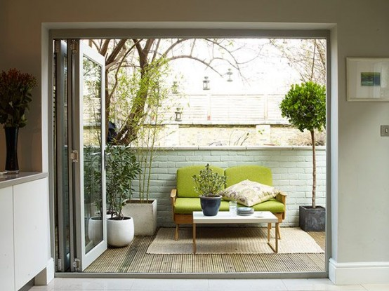 great ideas for green balcony