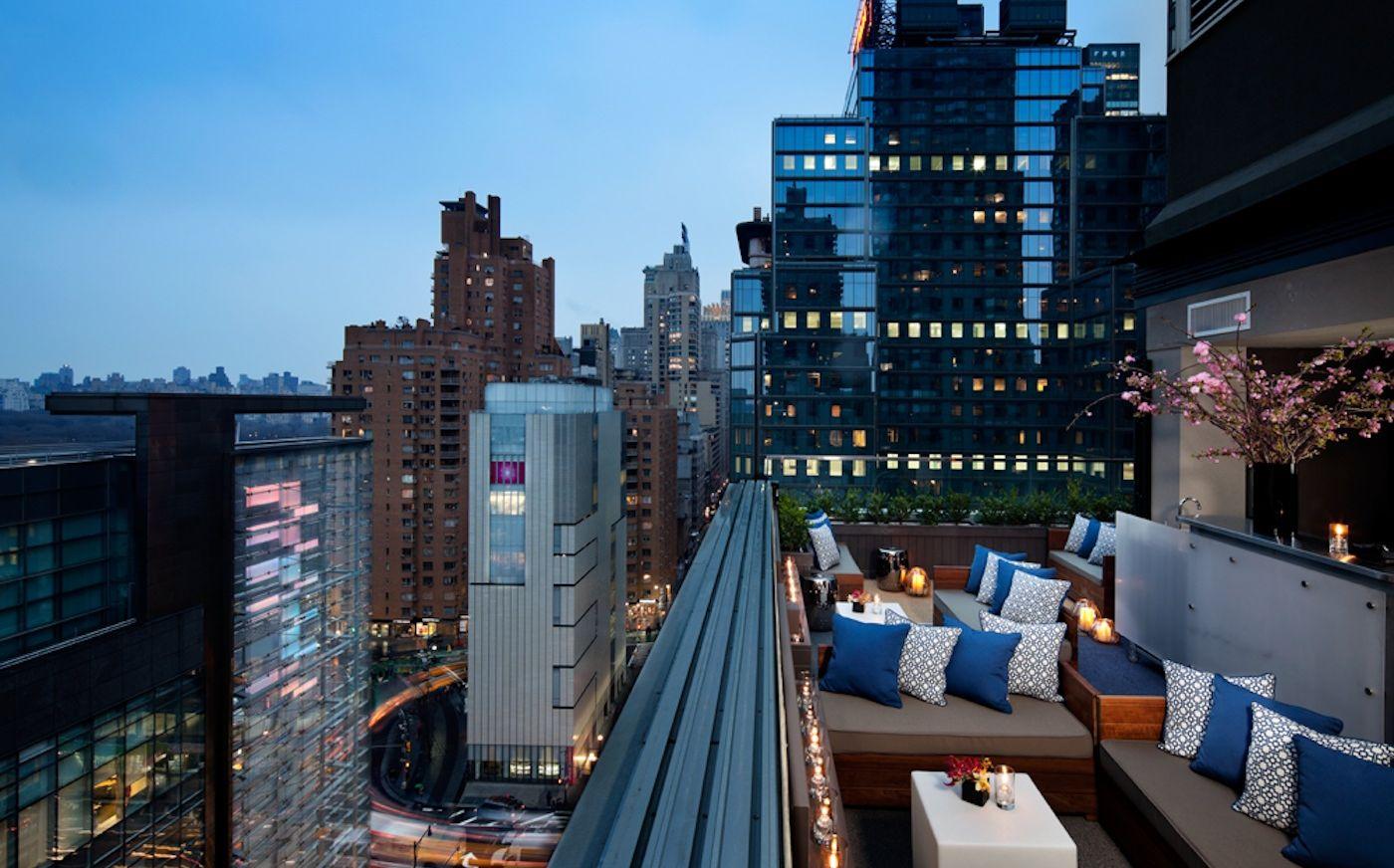 hotel modern terrace
