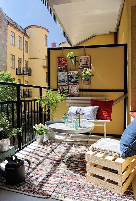 inspiring ideas for great handmade outdoor furnitures