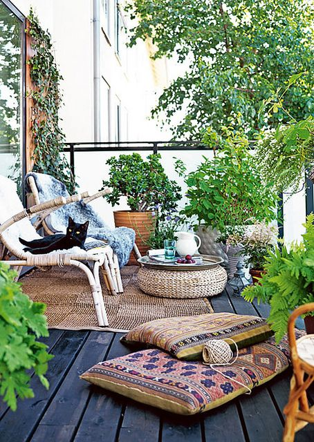 small balcony decoration inspiring ideas