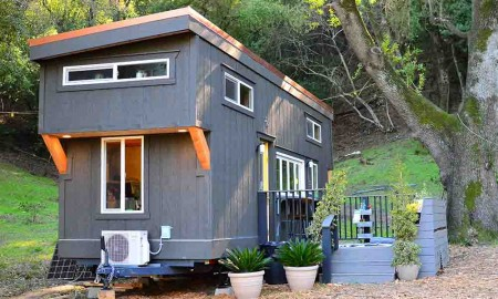 tiny house fasade