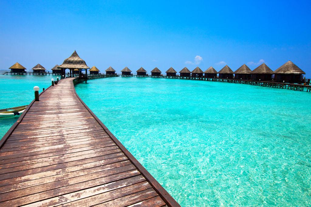 Hotel Conrad Rangali, Maldives wooden houses