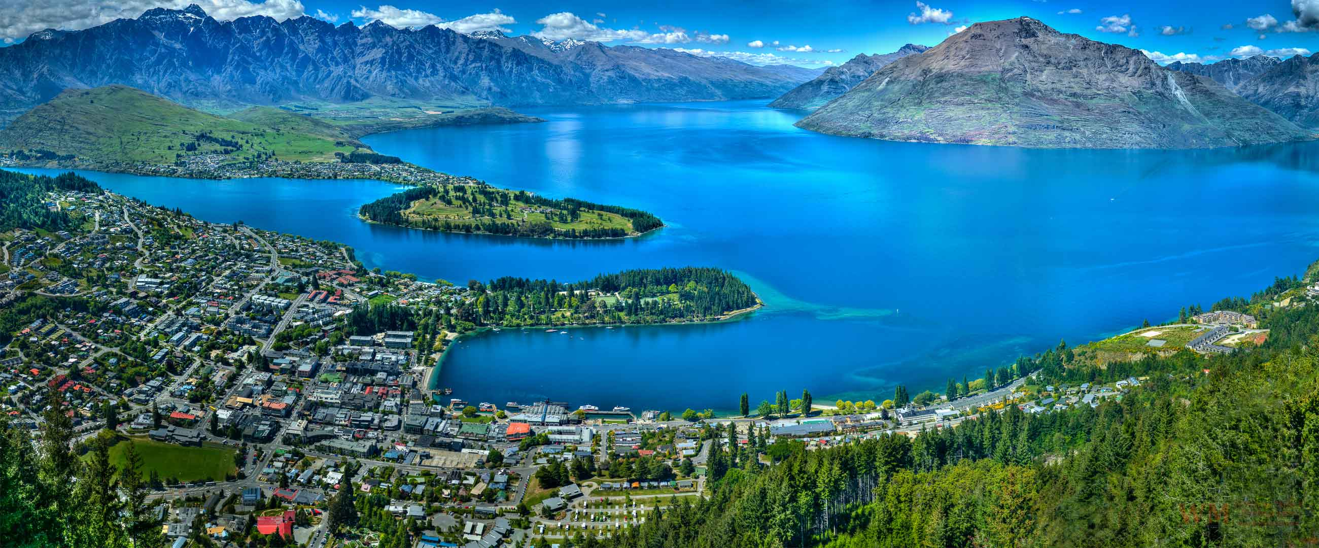 Queenstown Bay New Zealand