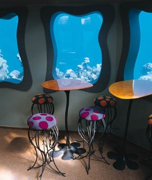 Underwater restaurant the Red Sea Star Eilat Israel 2