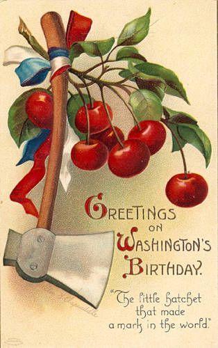 birthday retro post card