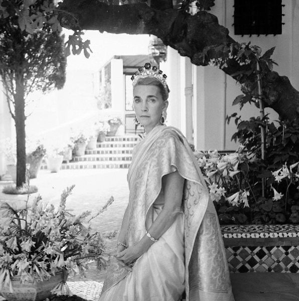 Barbara Hutton in Tangier