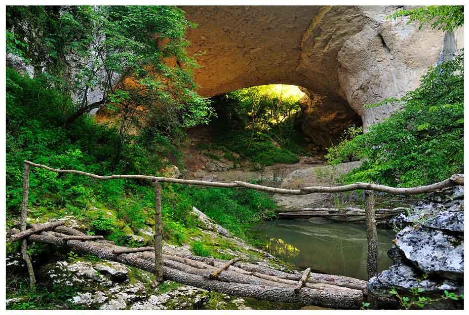 God's-bridge,-Vratsa-2  Bulgarian nature