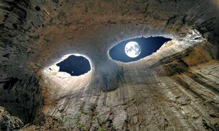 Oknata the eyes of God cave Prohodna, Karlukovo 2