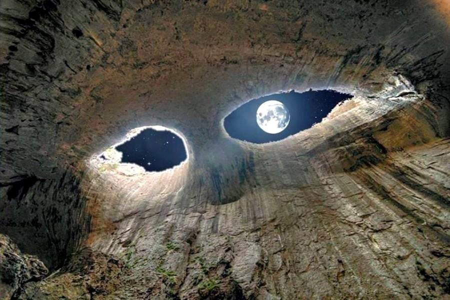Oknata the eyes of God cave Prohodna, Karlukovo 2