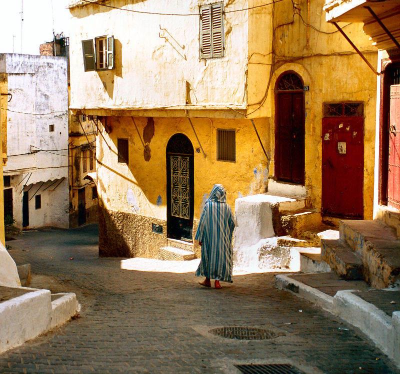 Tangier Medina street