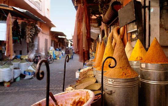 Tangier street market