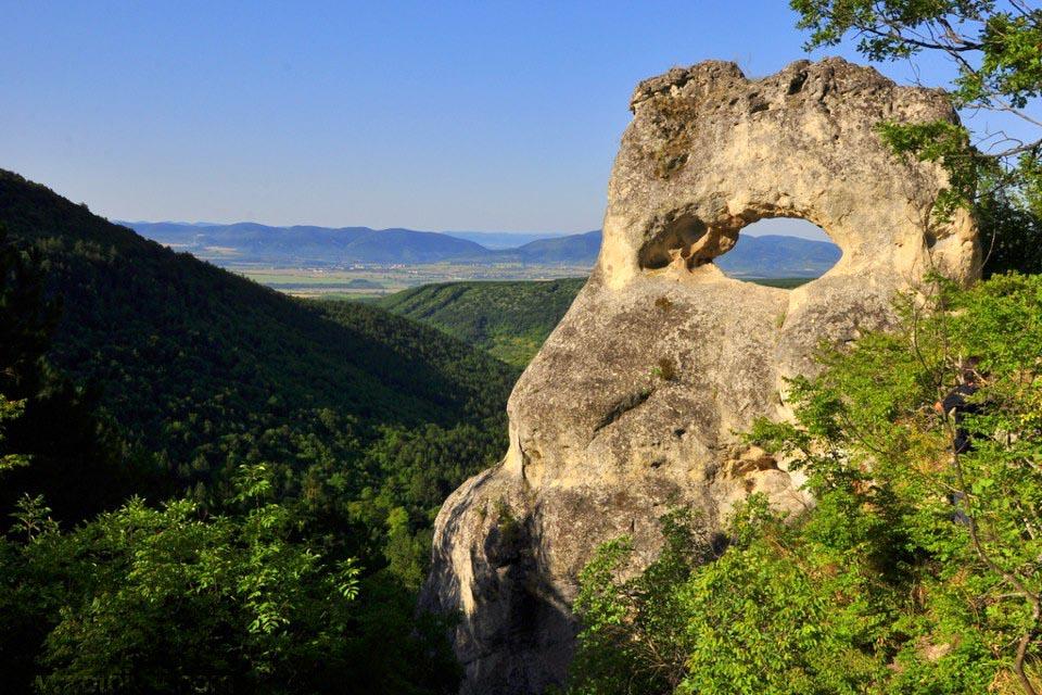 The eye, Osmar village, Shumen Bulgarian nature