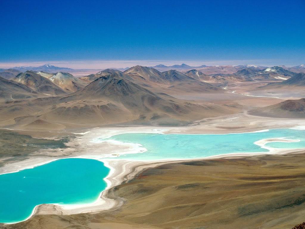 Licancabur lake, green lake - Chile  3