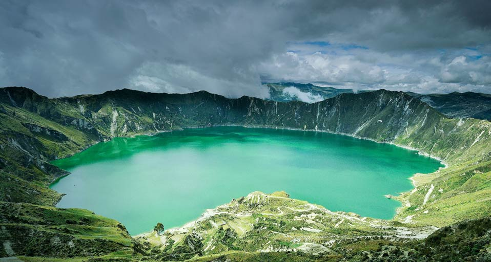 Quilotoa lake - Ecuador