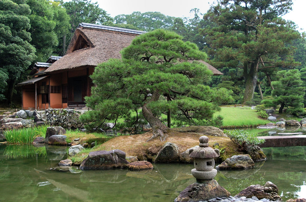 The-gardens-of-Katsura-(Katsura-Imperial-Villa),-Japan