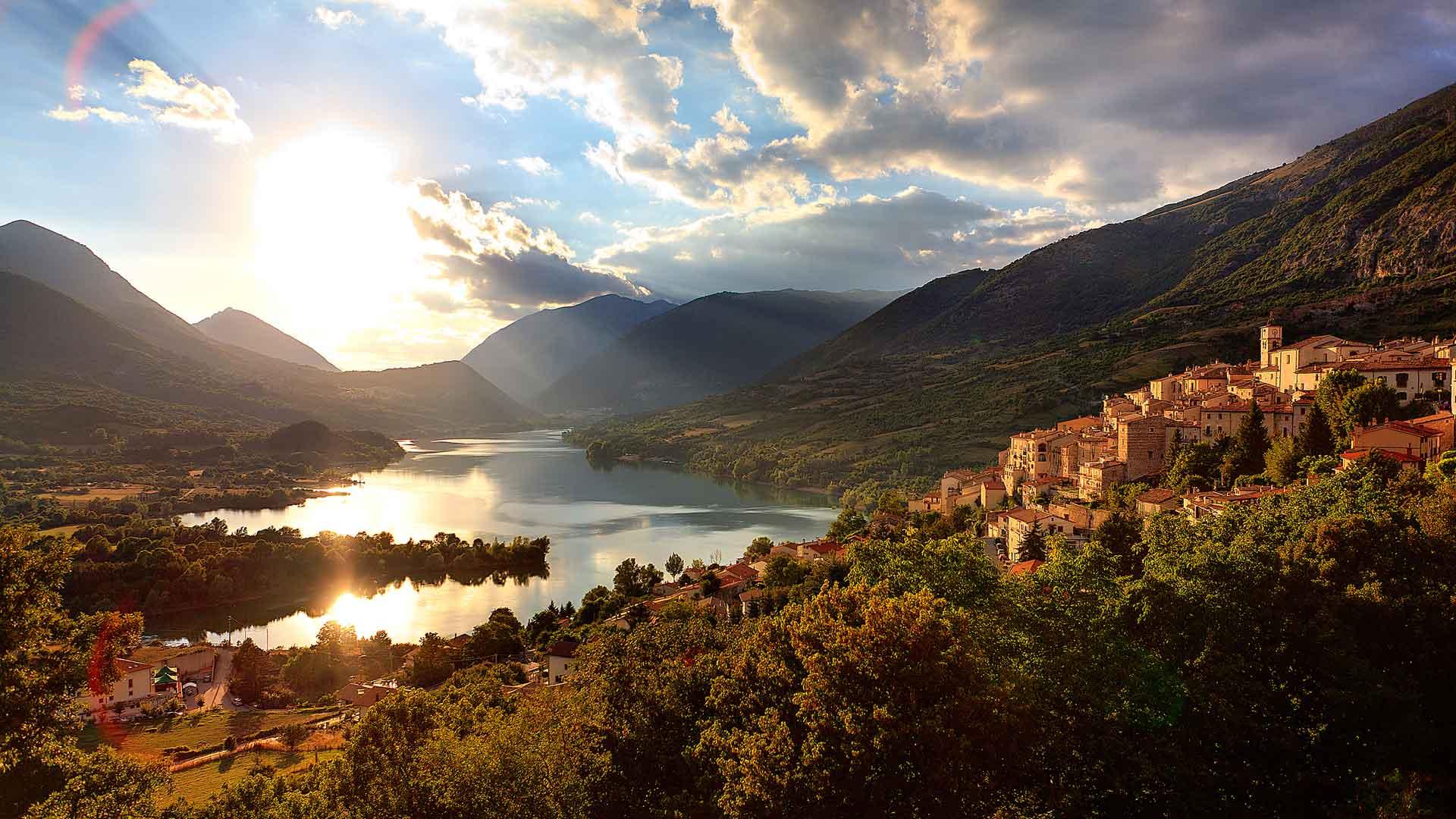 Abruzzo-National-Park landscape