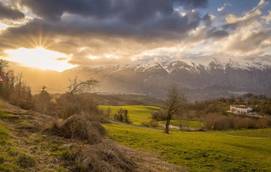 Italian National Park Abruzzo National Park