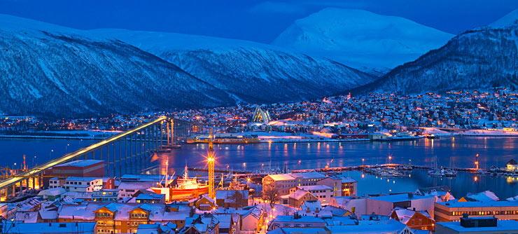 Tromso-city-winter-Norway