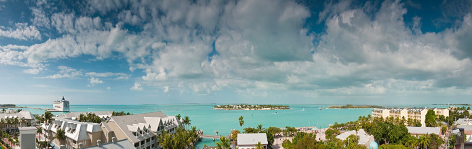 key west seaside landscape