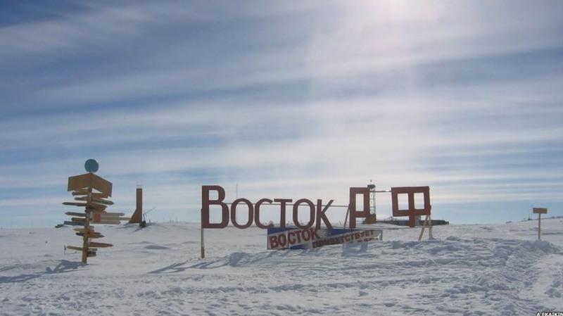 Vostok Station, Antarctica, восток, wintertime, cold
