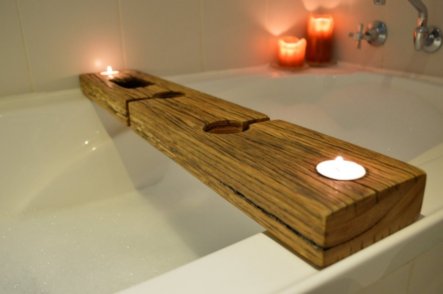 Bath Caddy Rack And Tray Ideas PRE TEND Be Curious  Wood Bath Rack Poxtel  com. White Wood Bath Rack