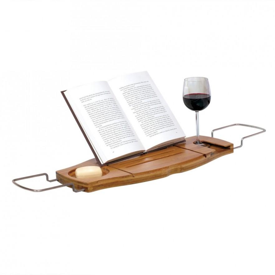 bath holder book holder red wine holder bath caddy