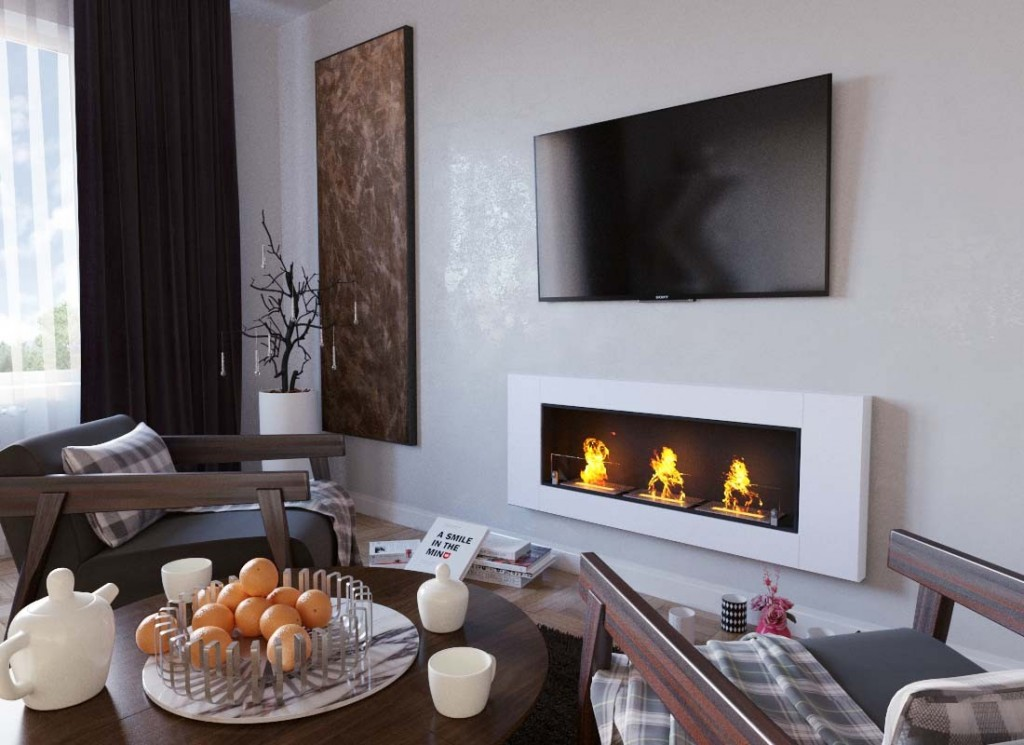 elegant-wall-fireplace-in-white-bioethanol