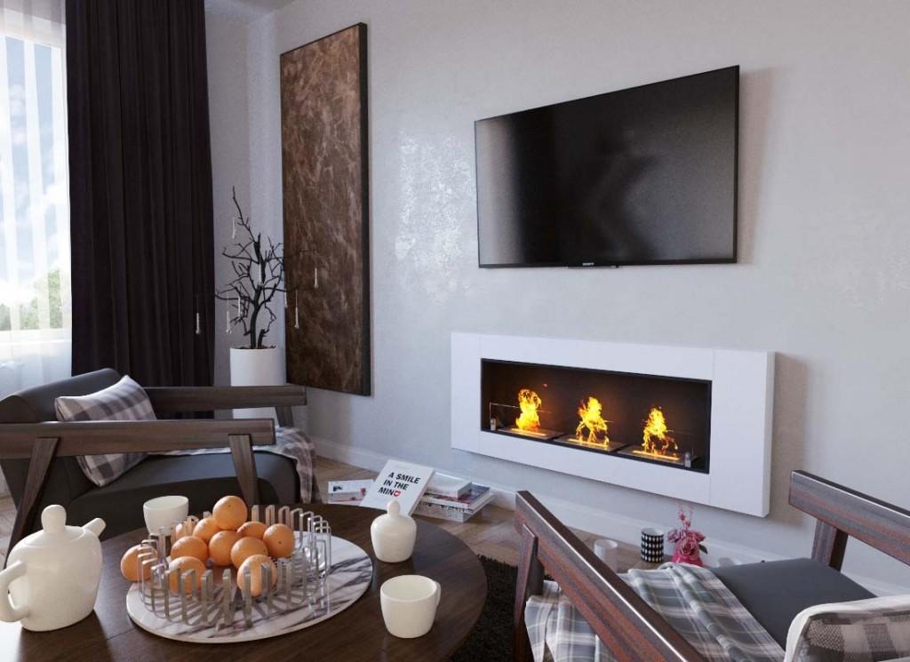 elegant-wall-fireplace-in-white-bioethanol
