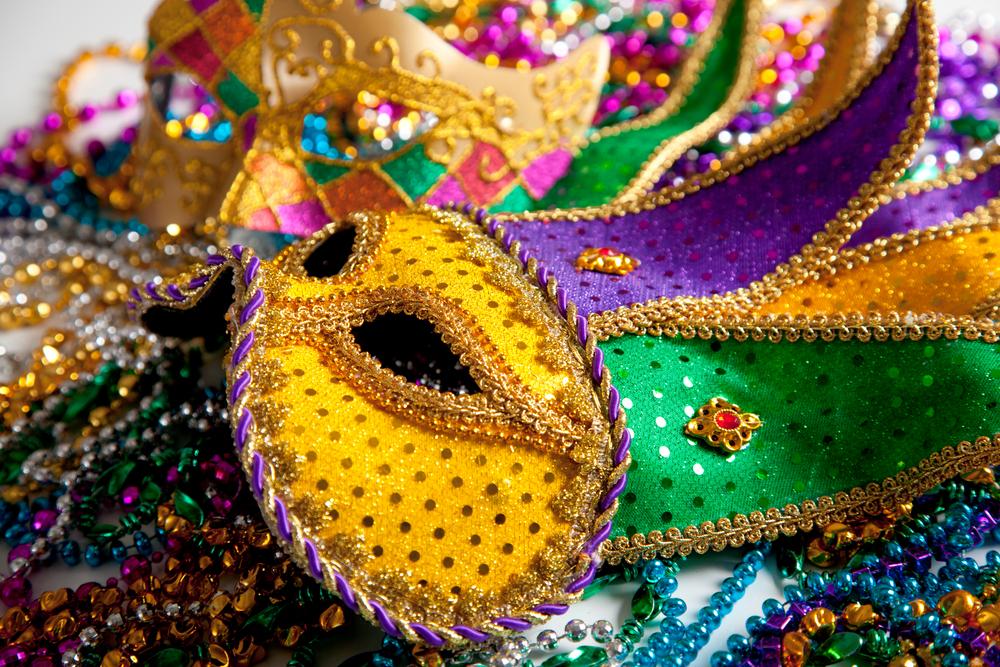 colorful fun masks