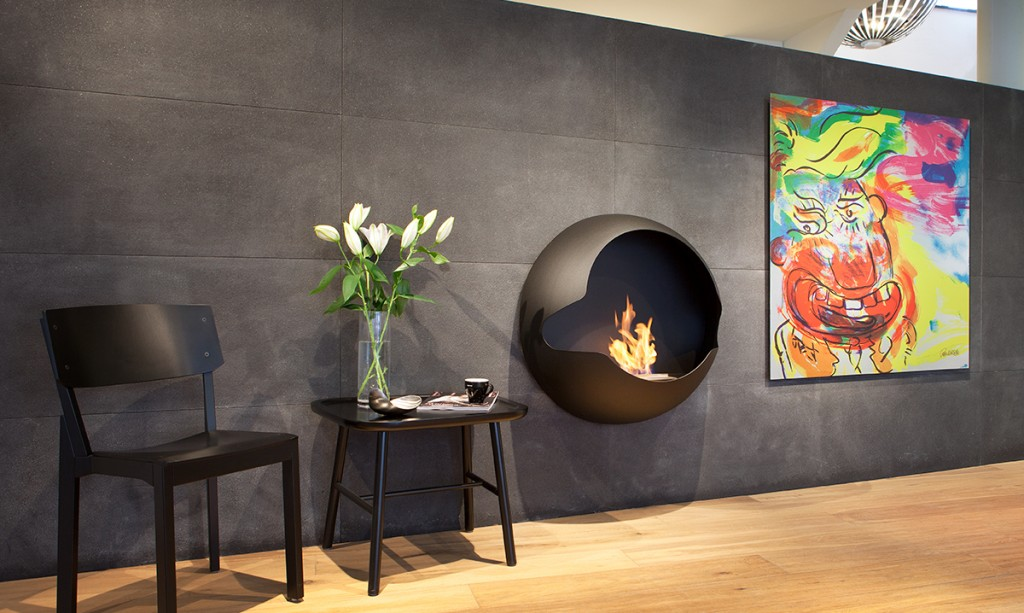 semi-spherical-fireplace-in-eclectic-decor-bioethanol-fireplace