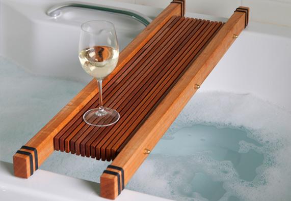 wooden-bathing-bridge white wine