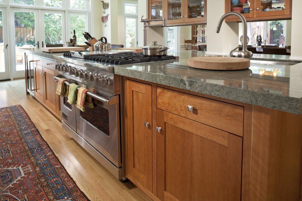 4-dark-costa-esmeralda-cabinets-from-wooden-countertops-granite