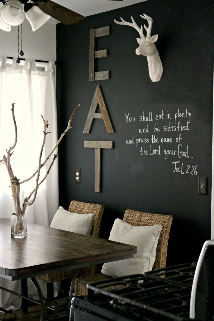 Decorate The Wall Near Your Dining Table Pretend Magazine